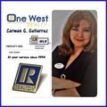 Carmen Gutierrez Real Estate Agent at One West Realty
